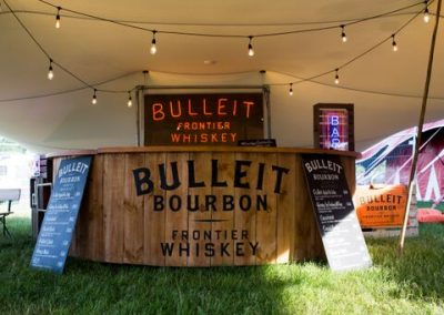 Bulleit Bourbon Bar at Leeds Festival